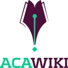The logo for acawiki